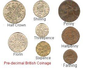Pre Decimal British Coinage