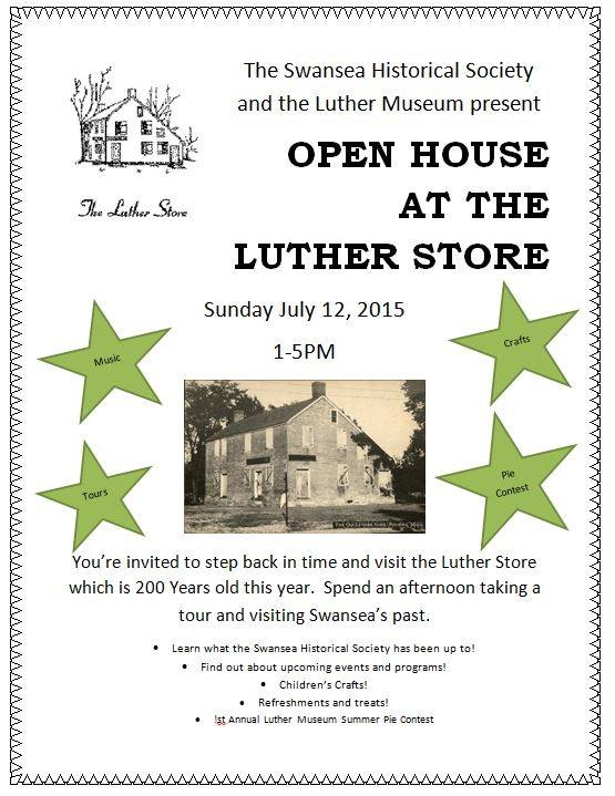 Luther Store Open House